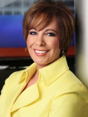 Estela Casas, news anchor at Channel 7-KVIA-TV in El Paso.