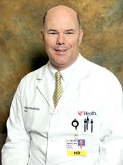 Trauma surgeon Dr. Tim Pritts directed the response at the University of Cincinnati Medical Center after Thursday's mass shooting Downtown.