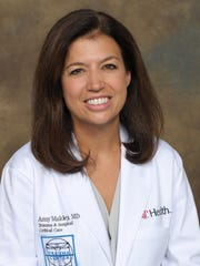 Dr. Amy Makley, director of trauma medicine at the