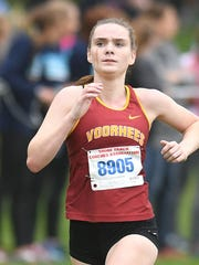 Voorhees Emma McGill places second with a time of 19:18