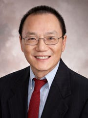 Dr. William Liu, medical director of the neonatal intensive care unit at the Golisano Children's Hospital of Southwest Florida.