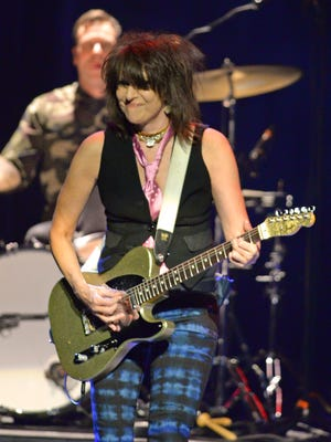 Chrissie Hynde and the Will Travel Band in concert at Mesa Arts Center on Wednesday, November 26, 2014.