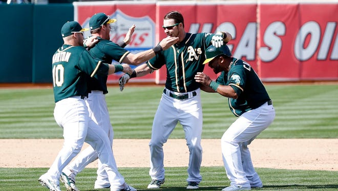 Josh Reddick's hit was the fourth game-ending hit of his career.