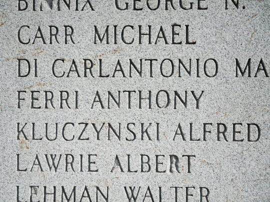Anthony Ferri's name is listed on a World War II monument in South Camden erected by American Legion Post to honor  hundreds from the Eighth Wars who served. Ferri is among the names of 24 killed from South Camden.