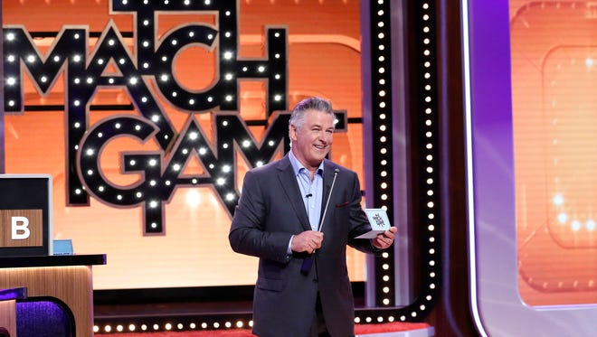 Alec Baldwin can be seen on ABC's 'Match Game,' as well as on NBC's 'Saturday Night Live,' where he plays Donald Trump.