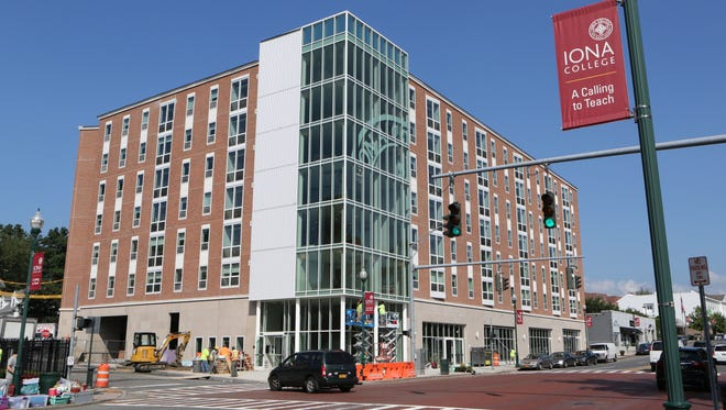 The new North Avenue Residence Hall at Iona College in New Rochelle