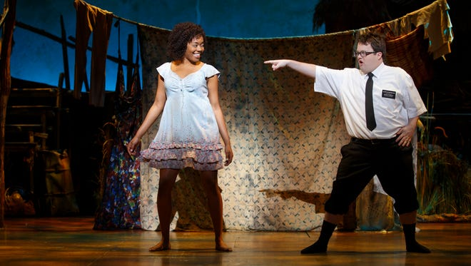 "Candace Quarrels and Cody Jamison Strand in ""The Book of Mormon"" national tour"