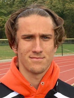 Eamon McCarren, a senior goalie for Cherokee