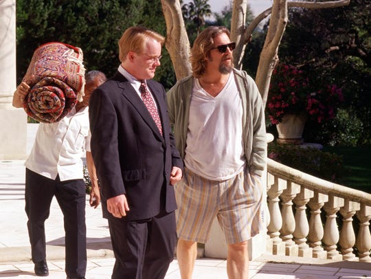 Philip Seymour Hoffman and Jeff Bridges, right, appear