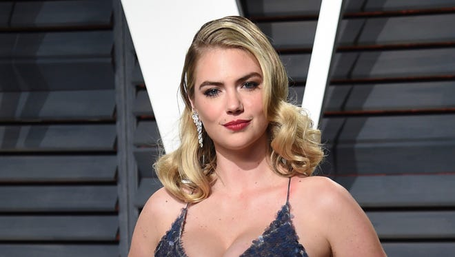 Kate Upton, in Beverly Hills, Calif in 2017, spoke to 'Good Morning America's' Robin Roberts about her claims of sexual harassment against Guess co-founder Paul Marciano Friday, Feb. 9, 2017.