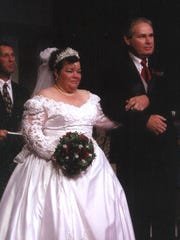 Jerry and Mary Sturgel, at their July 2005 wedding, were shot to death by Timothy Sturgel in  2009.