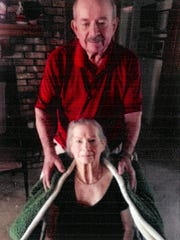 Mr. and Mrs. Don Spann were married Sept. 13, 1952.
