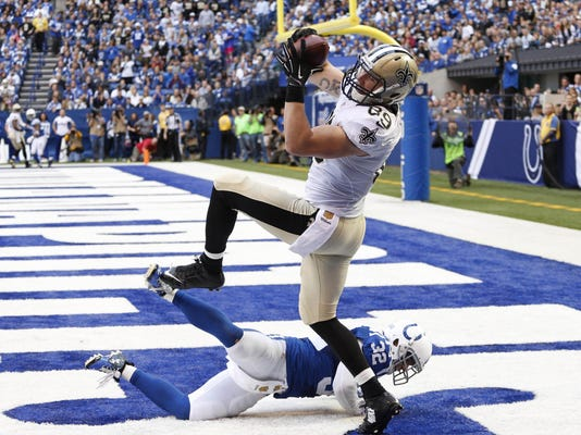 NFL: New Orleans Saints at Indianapolis Colts