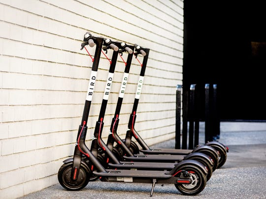 Bird - dock-free, electric scooters are now available