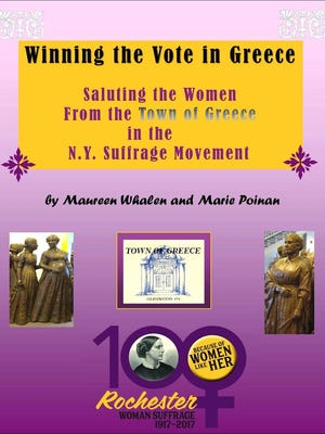 """Winning the Vote in Greece"" is sold in the gift shop at the Charlotte-Genesee Lighthouse Historical Society."