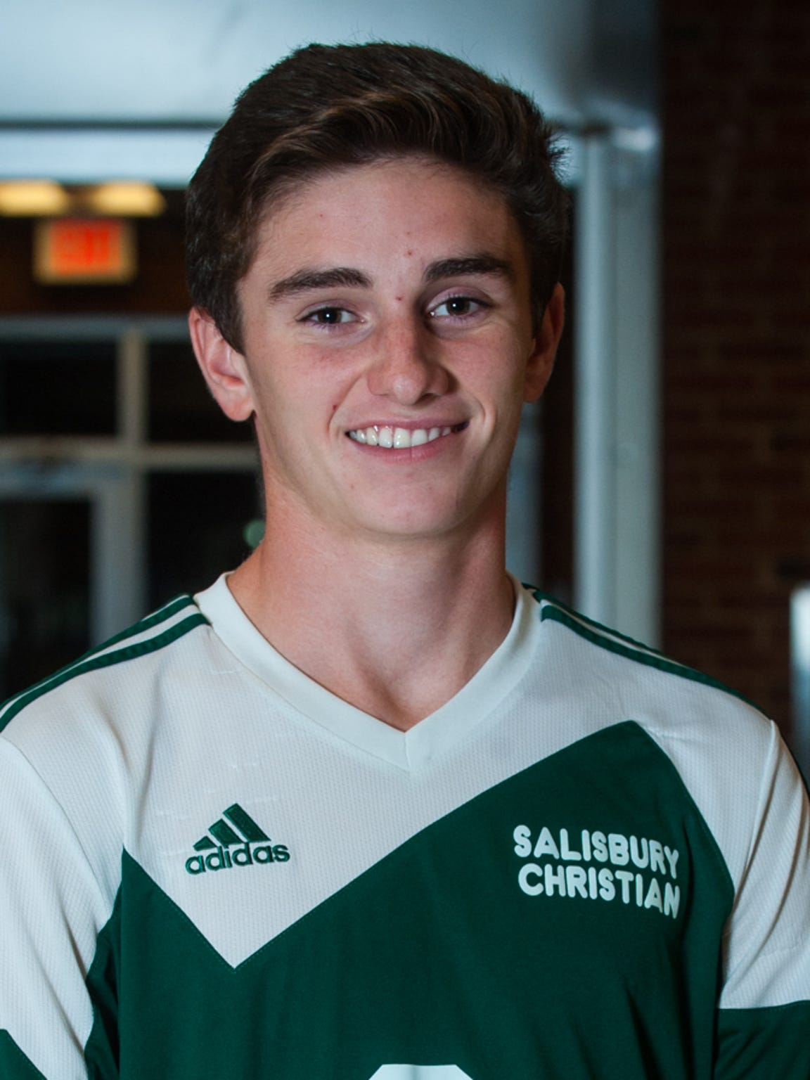 Salisbury Christian's Ryan Spadin.