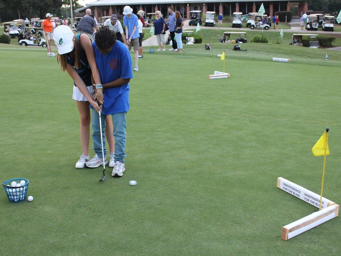 When Madelyn Dimitroff is not working on her own golf skills, she is helping younger kids in area get started in golf. The Catholic High senior was chosen as one of 81 junior golfers in U.S. to play in the PGA Tour's Champions Tour Nature Valley First Tee Open in famed Pebble Beach on Sept. 13-18.