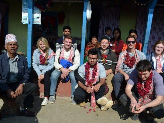 RVCC Rotaract Club members, from left, Jenna Douglas,