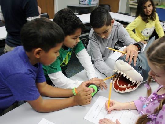 SeaCamp at the Texas State Aquarium.