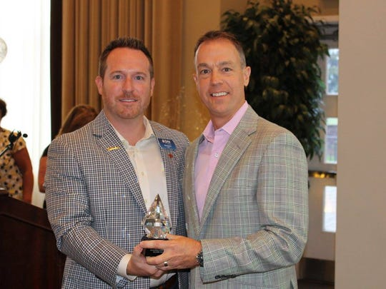 SVN | Miller commercial real estate managing director and senior advisor Brent Miller, recently received the Outstanding Commercial Realtor Award at the Coastal Association of Realtors2017 Annual Awards Ceremony.