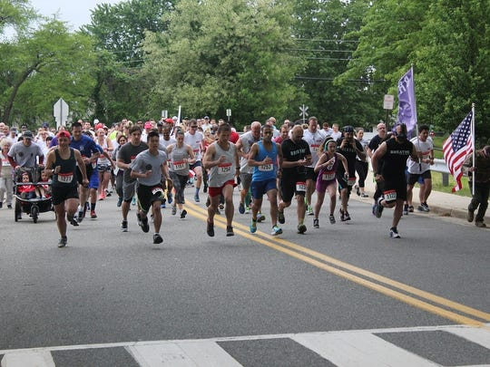 The Follow Me 5K (FM5K) for the American Legion Post 25 of Milltown will be held in the borough on Saturday, May 19. Used to raise funds for veteran and local school programs, the race also honors fallen heroes with a date chosen close to Memorial Day.