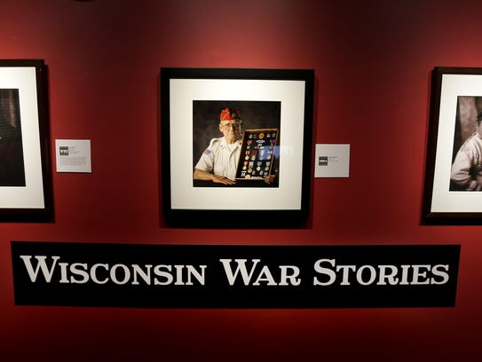 """""""Wisconsin War Stories"""" will be featured through July"""