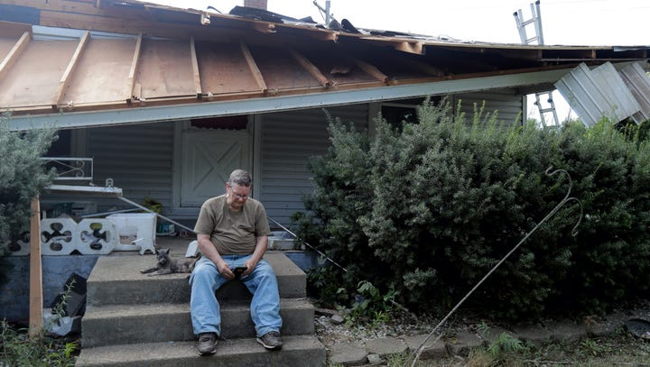 'It has to be a miracle': Indiana tornado damages 20 buildings, no deaths