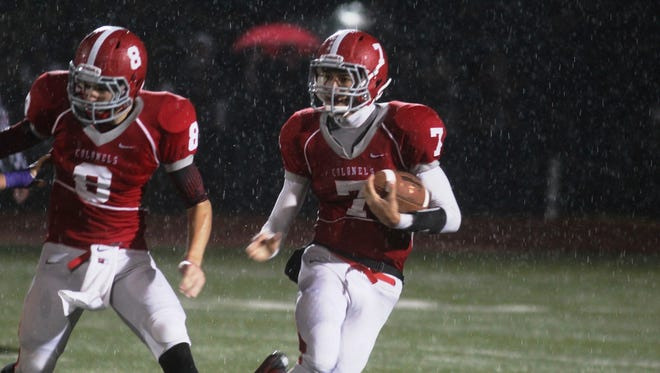 Dixie Heights and quarterback Drew Moore could lock up the 6A District 6 championship with a win over Ryle. A Raiders win could force a three-way tie for first place.