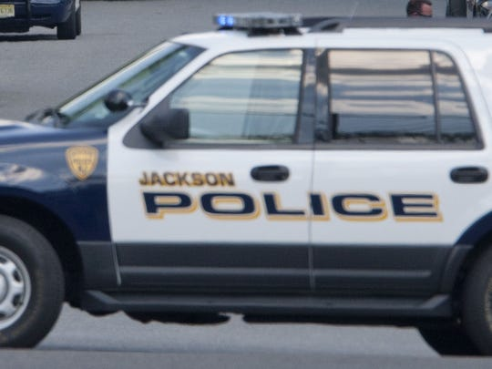 Jackson Township Police Department vehicle.