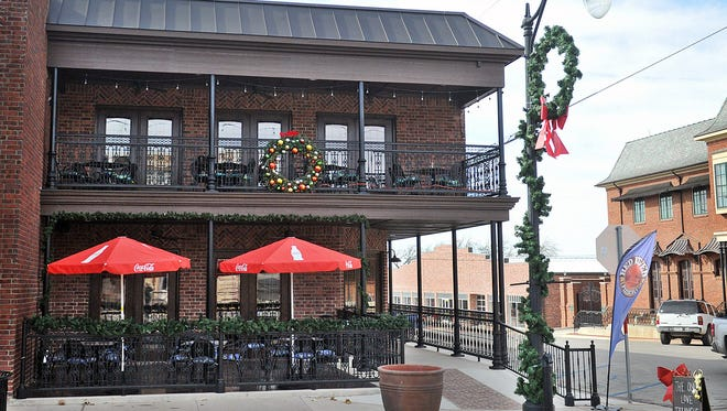 Red River Pizzeria in downtown Nocona is the product of two years of planning and construction and features indoor and outdoor dining on two levels, made-from-scratch sauces and fresh ingredients and a beer and wine bar. Live music can be heard on most Friday nights.