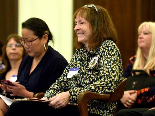 Angi Metler, executive director of the Animal Protection
