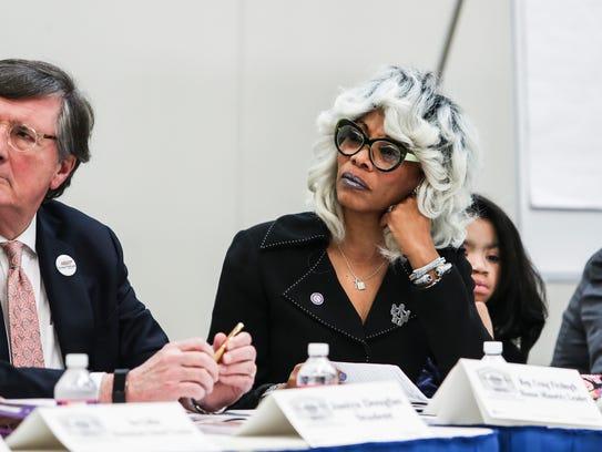 April 14, 2018 - Dr. Sharon Griffon, school board member,