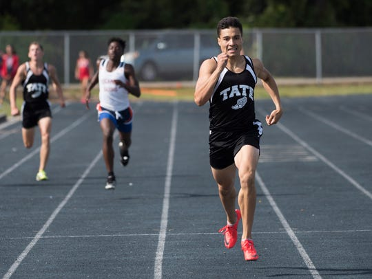 Tate High School's Joey Zayszly takes first place in