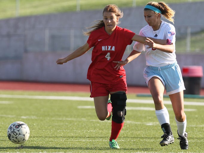 The Nixa against Glendale Class 3 district final at Ozark on May 22, 2014.