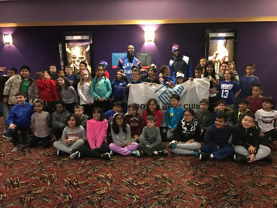 More than 60 members of the local Boys & Girls Club