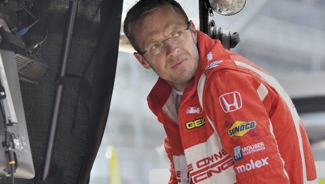 "Bourdais blacked out momentarily after the crash. As soon as he was alert, it was clear to him: He was ""broken."""