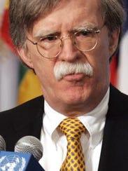 John Bolton, former U.S.  Ambassador to the United