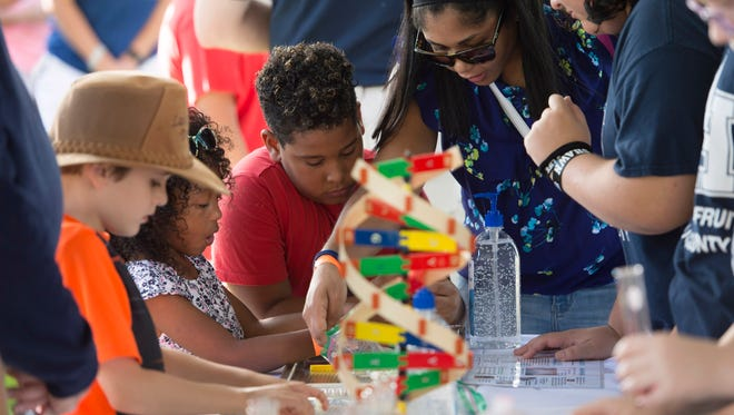 The fifth annual Indian River Lagoon Science Festival is Saturday at Veterans Memorial Park in Fort Pierce.