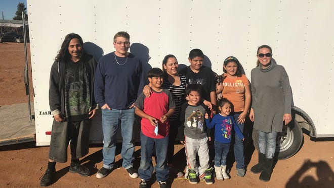 Las Cruces nonprofit Revolution 120 helped the Ramirez family with new furniture, new oven, a new propane tank and several months worth of propane in time for Christmas.