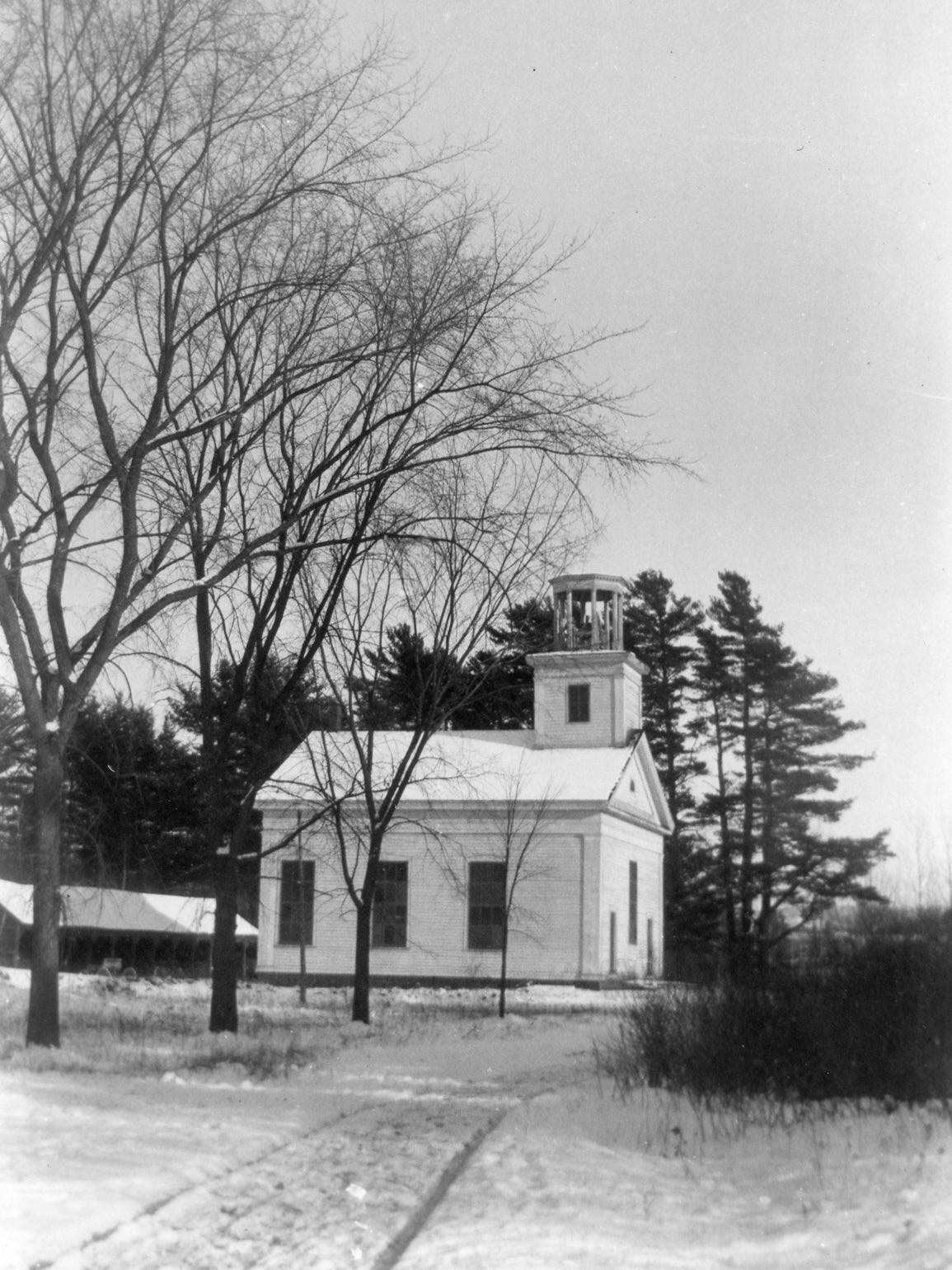 The West Milton Meeting House, also known as the West