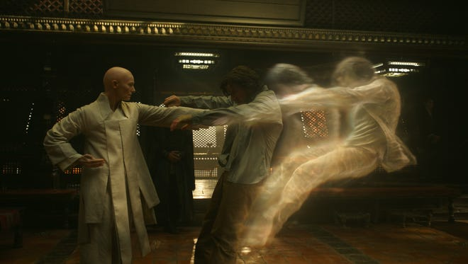 Tilda Swinton is playing The Ancient One in 'Doctor Strange,' a character portrayed as an Asian male in the comic books.