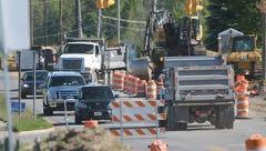 Day 1 of Trimble Road closure