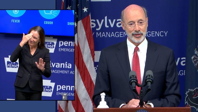 Gov. Tom Wolf announced Wednesday that a resolution to end the commonwealth's disaster emergency that was passed by the state's General Assembly on Tuesday would be detrimental to the pandemic response in Pennsylvania, and would not, in fact, lead to business reopenings. Wolf has said he will challenge the resolution in court.