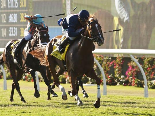 Del Mar Oaks Horse Racing