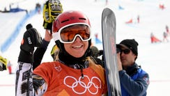 Ester Ledecka of the Czech Republic makes history and