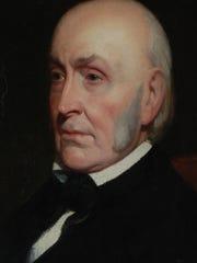John Quincy Adams visited Cincinnati in 1843 to dedicate