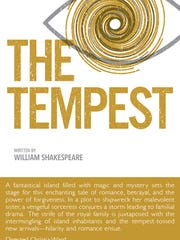 """The University of Evansville's production of """"The Tempest"""" opens Friday."""