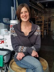 Kim Schneider is a brewer at Rivers Edge Brewing in