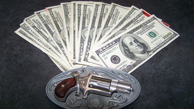 Recently, EJ's Auction & Consignment recovered and returned more than $6,500 that was hidden in furniture, a purse, and a small belt buckle gun holster.
