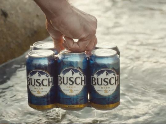 The Busch Guy is being sent to the Alamo Bowl for Iowa State